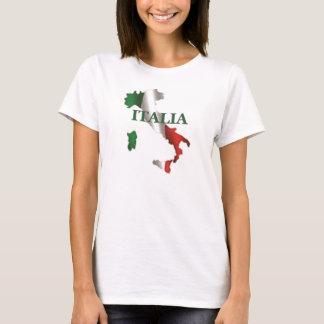 KartaT-tröja för damer Italia T-shirts