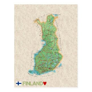 KARTAVYKORT♥ Finland Vykort