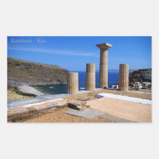 Karthaea - Kea Rektangulärt Klistermärke