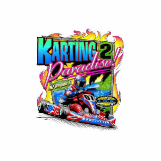 karting till paradiset photo cut outs