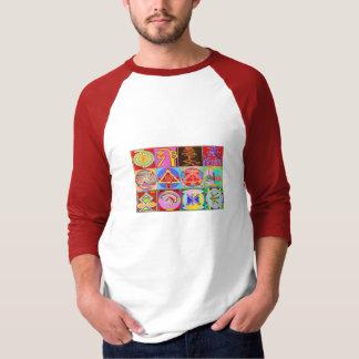 KARUNA n Reiki som läker den ledar- samlingen T-shirt