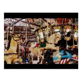 Karusellen i Coolidge parkerar Vykort