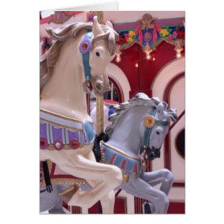 Karusellhästen Hälsningskort