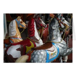 Karusellhästkort Hälsningskort