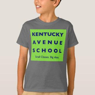 KAS-unge grundläggande Hanes Tagless ComfortSoft® T Shirt
