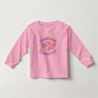 Kasakhstan karta tee shirts