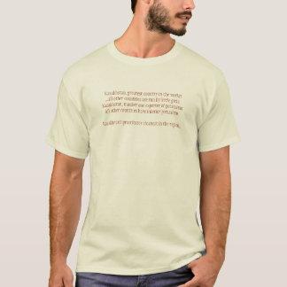 Kasakhstan mest underbar land i th…, - Skräddarsy T Shirt