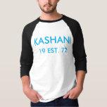 KASHANI-manar grundläggande 3/4 T-tröja för Raglan T Shirts