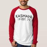 KASHANI-manar T-tröja för Raglan för långärmad för Tröja