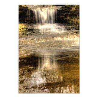 Kaskaderna på den GlenHelen naturen reserverar, Oh Fotografiskt Tryck