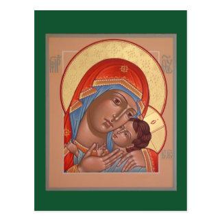 Kasperov mor av gudbönkortet vykort