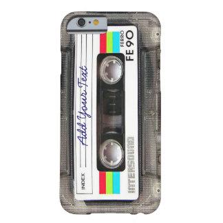 Kassetten för musik för den roliga vintage80-tal barely there iPhone 6 fodral