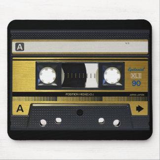 Kassetten tejpar Retro design för old school Musmatta