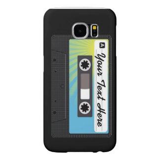 Kassettklassikeriphone case täcker samsung galaxy s6 fodral