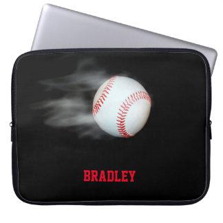 Kasta bollbasketlagpersonligen laptop sleeve