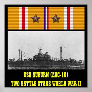 KASTANJEBRUN (AGC-10) AFFISCH FÖR USS