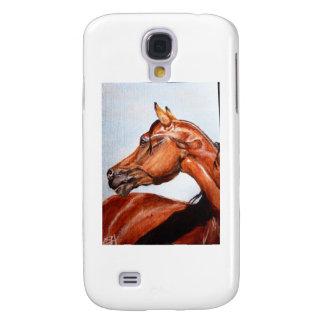 Kastanjebrun häst galaxy s4 fodral