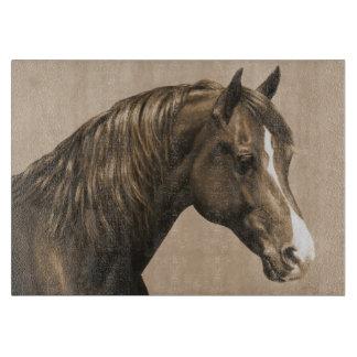 Kastanjebrun Morgan häst i Sepia