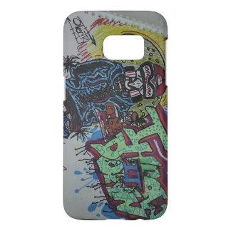 Kastdownm* för grafitti #1 galaxy s5 skal