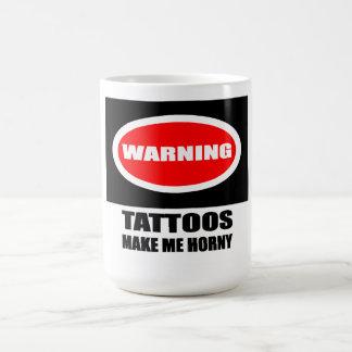 Kåt tatueringmugg kaffemugg