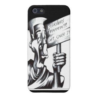 Katastrofer händer iPhone 5 fodraler