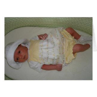 Katelyn födelse hälsningskort