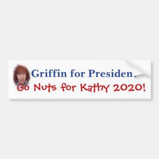 Kathy grip för president bildekal