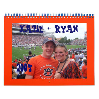 Katie & Ryan Kalender