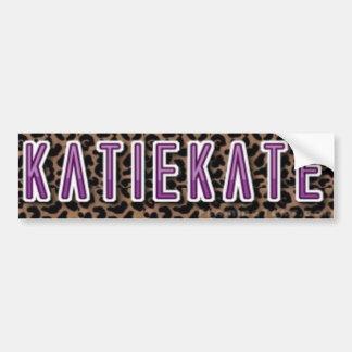 KatieKate klistermärke