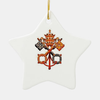 Katolik Julgransprydnad Keramik