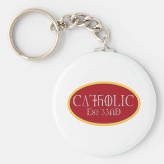 Katolik Rund Nyckelring