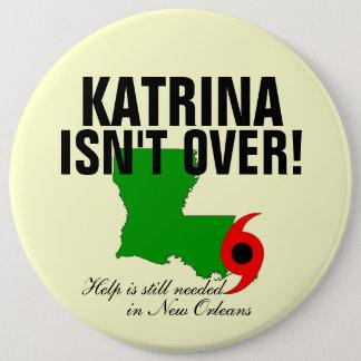Katrina är inte över jumbo knapp rund 15.2 cm