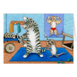 katt 458 noterar kortet kort