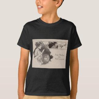 Katt för svart för häxa för pumpa för kvinnajackO Tee Shirts