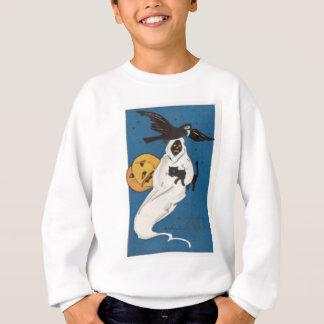 Katt för svart för kråka för pumpajack o t-shirts