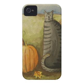 Katt Halloween för 4874 skörd iPhone 4 Case-Mate Case