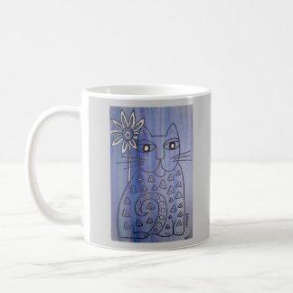 """""""Katt har deppigheterna """", Kaffemugg"""
