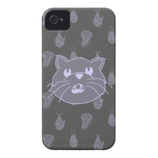 Katt i Awe av mat iPhone 4 Case