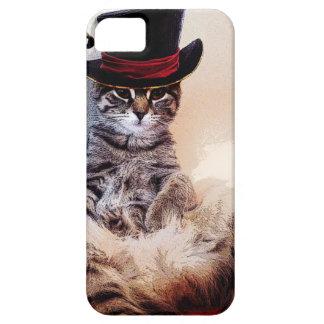 Katt i en hatt iPhone 5 Case-Mate skydd