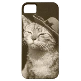 Katt i hatt iPhone 5 cover