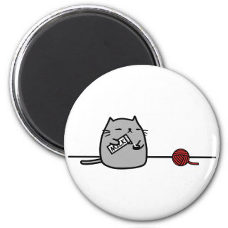 Katt Kylskåpsnagnet