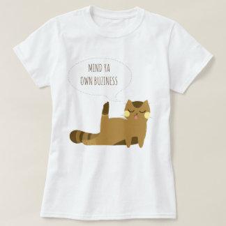 Katt med inställning tröja