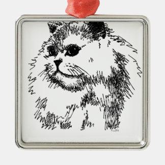 Katt mobila Covers-Cases.jpg Julgransprydnad Metall