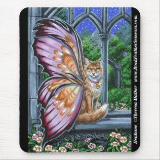 Katt Mousepad för orange Tabby för Hellebore felik Musmatta