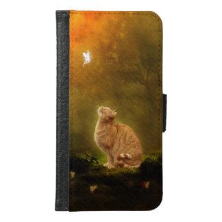 Katt och fe plånboksfodral för samsung galaxy s6