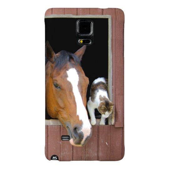 Katt och häst - hästranch - hästälskare