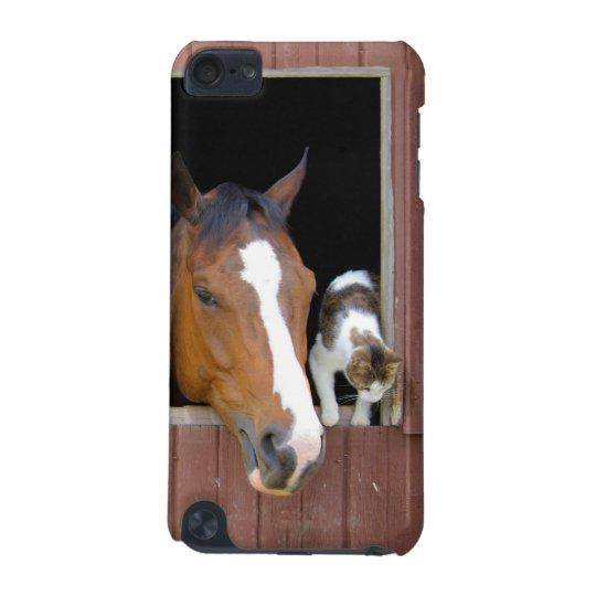 Katt och häst - hästranch - hästälskare iPod touch 5G fodral