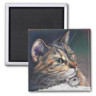 katt- och musmagnet magnet