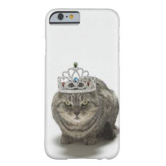 Katt som ha på sig en tiara barely there iPhone 6 fodral