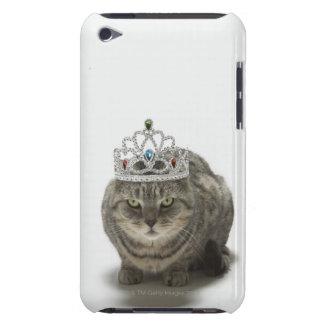 Katt som ha på sig en tiara Case-Mate iPod touch skydd